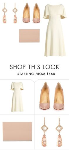 """""""Sin título #8241"""" by ceciliaamuedo ❤ liked on Polyvore featuring Osman, Christian Louboutin, STELLA McCARTNEY and NSR Nina Runsdorf"""