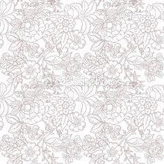 Vintage flower pattern — Stock Vector © Lemuana #