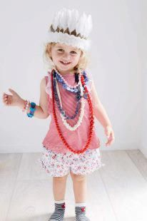Dress ups are going to be lots of fun Ava:)