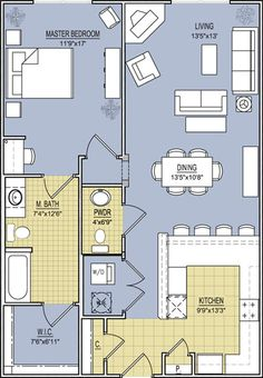 Perfect Floor Plan For Guest House!
