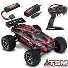 Traxxas 1/16 E-Revo VXL Brushless 4WD RTR RC Truck RED w/TSM iD & CHARGER!!