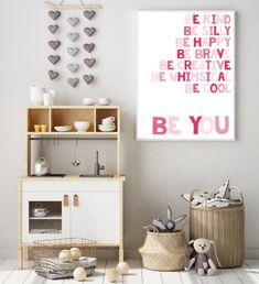 Nursery quote print Pink Nursery Decor Children's | Etsy Nursery Prints, Nursery Wall Art, Nursery Decor, Whimsical Nursery, Teal Nursery, Blush Nursery, Nursery Ideas, Bedroom Decor, Alphabet Poster