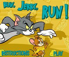 Play Run Jerry Run at Babigames.com