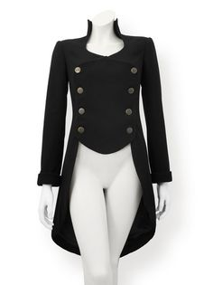 Tailcoats for Women   Tailcoat Pattern