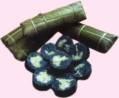 Bánh chưng đen người Thái Mường Lò
