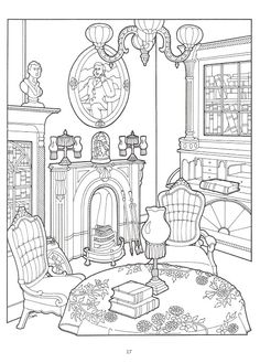 The Victorian House coloring book - Nena bonecas de papel - Picasa Web Albums