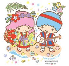 Bank of Okinawa, Ltd. new image character 'Little Twin Stars'  2015.5.25