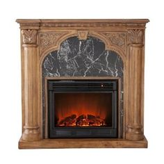 Electric fireplaces, Lakes and Fireplaces on Pinterest