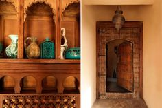 Gerani country home in Chania/Crete. Moroccan doors