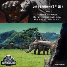 John Hammond's Vision   Jurassic World