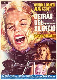 Horror Movie Posters, Movie Poster Art, Horror Movies, Carroll Baker, Fajardo, Film Structure, Horror Movie Trailers, Spanish Posters, Slasher Movies