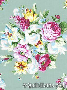 Circa PWJP071-Green Fabric by Jennifer Paganelli