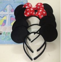 12pcs/Lot Minnie Mouse headband Children party Minnie Mouse Ears Baby Hair…