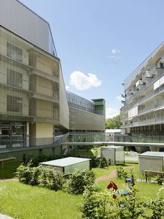messequartier housing project by pernthaler architecture