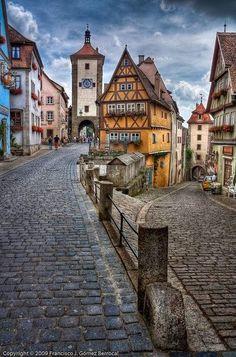 Rothenburg, Germany -- Gorgeous