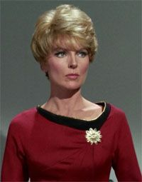 "Lieutenant Areel Shaw was the Starfleet JAG officer assigned to Starbase 11. In 2267, she was the prosecuting attorney in the court martial of James T. Kirk for the death of Benjamin Finney. (TOS: ""Court Martial"")"