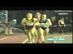 This Runner Had A Painful Fall, Then She Stunned The Crowd By Doing This! - YouTube