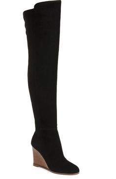 Vince Camuto 'Granta' Over the Knee Wedge Boot (Women) available at #Nordstrom