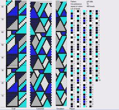 Анастасия Макеева — «Geometry in Blue 16.png» на Яндекс.Фотках.  I think I'd use a different color in place of turquoise.