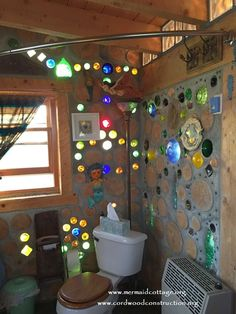 """How to make """"bottle bricks"""" to use in walls."""