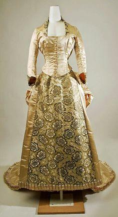 """For Alexia"" Wedding Dress  1870s  The Metropolitan Museum of Art. Parasol Protectorate"
