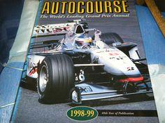 AUTOCOURSE 1998 1999 MICHAEL SCHUMACHER MIKA HAKKINEN RUBENS BARRICHELO F1 GP   eBay