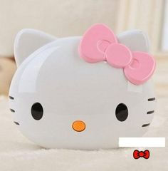 3D Hello Kitty Sanrio 8000mAh Mobile Power Bank Charger Samsung iphone 5 4S iPad Gifts (Pink)