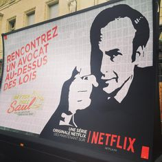Netflix outdoor campaign