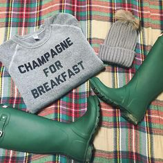 Champagne For Breakfast? Yes Please!