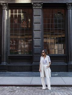 This fashion week has been all about simple pieces. I've been gravitating more towards simple and clean silhouettes and this look was one of them. I first started …
