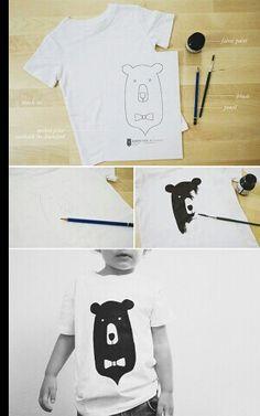 T-shirt versieren