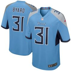 b4c780f8e Men s Nike Tennessee Titans  31 Kevin Byard Light Blue New 2018 NFL Game  Stitched Jersey