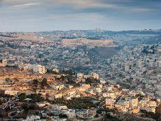 First light reveals the many layers of Jerusalem.