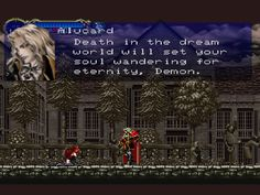 Picture of Castlevania: Symphony of the Night Alucard Castlevania, Vampire Art, Pixel Art, Video Games, Death, Fan Art, Manga, Night, My Love