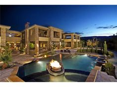Pool property of the week on pinterest las vegas movie for Home for sale in las vegas with pool