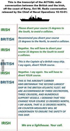 Ship vs Lighthouse