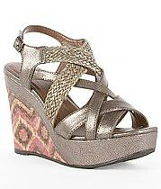 Summer wedges ... I'm obsessed