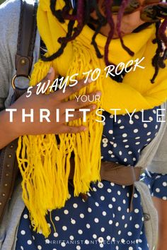 5 Ways to Rock Your Thrift Style - Pro Insider Tips in this Thrift Store Guide to Successful Clothes Shopping! thrifting, thrift shopping, how to save on clothes, secondhand fashion, bargain hunters, thrift store clothes, thrift store style   Thriftanista in the City