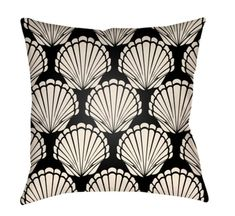 Buy the Surya Black / White Direct. Shop for the Surya Black / White Litchfield Wide Square Novelty Seashells Polyester Outdoor Accent Pillow Cover and save. Throw Cushions, Throw Pillow Covers, Decorative Throw Pillows, Bed Pillows, How To Make Pillows, Transitional Style, Navy And White, Navy Blue, Sea Shells