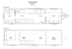 THE EVEREST - Tiny House from Mustard Seed - Mustard Seed Tiny Homes