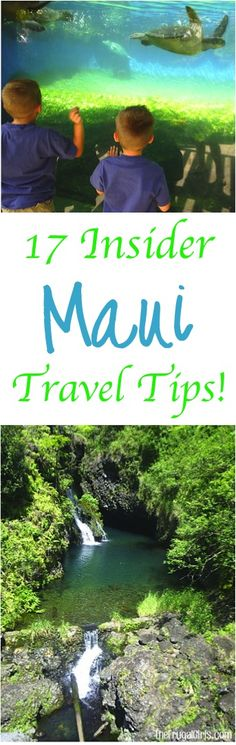 Maui Vacation With Kids!  The BEST comprehensive guide of must-see Sights, Beaches, and fun Insider Tips for things to do the whole family will love!