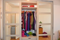 Exclusive range of sliding doors wardrobes with spray painted MDF doors