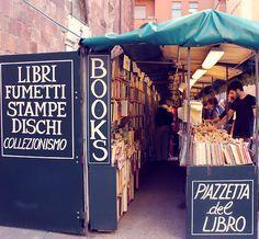 Librería en Lucca, Italia. Fotografia de © Alessia Policano