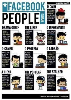 facebook tipos