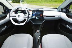 Renault EOLAB - Interior