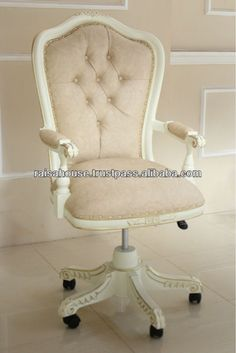 French Furniture - Swivel Desk Chair, View french style furniture chair, Product Details from RAISA HOUSE OF EXCELLENCE on Alibaba.com