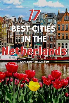 Check out these 17 best cities in the Netherlands! The Netherlands has a lot more cool cities that are worth visiting than you would think. European Travel Tips, Europe Travel Guide, European Destination, Backpacking Europe, Travel Guides, Travel Destinations, Holiday Destinations, Travel Abroad, Travel Advice