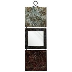 StyleCraft Home Collection WI41154DS Metal Wall Art