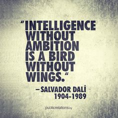 Awesome Salvador Dali #quote