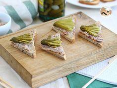 Toast rillettes cornichons, Recette Ptitchef